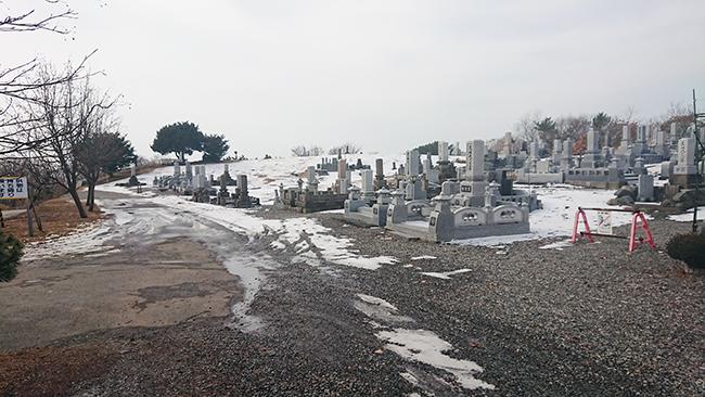 新冠町共同墓地