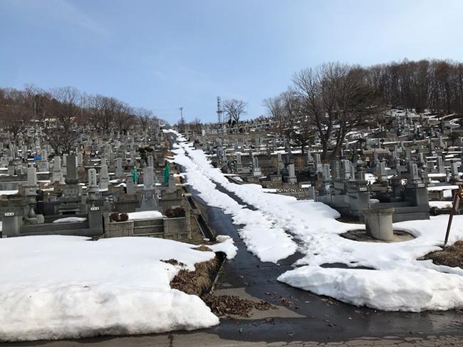 小樽市営高島墓地