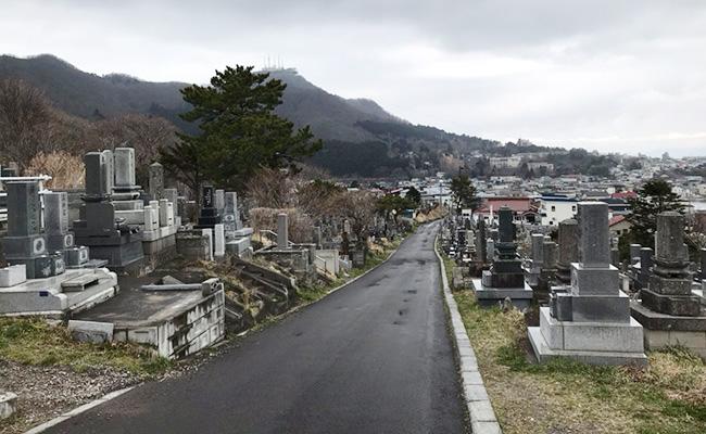 函館住吉町共同墓地