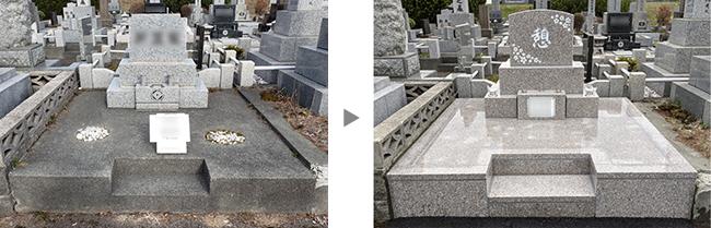 里塚霊園で改葬のお墓