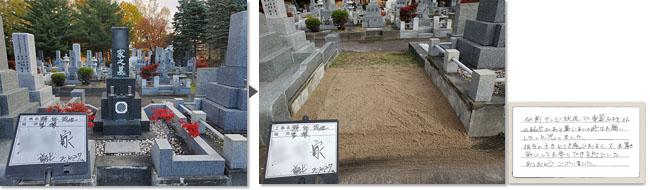 里塚霊園のお墓じまい