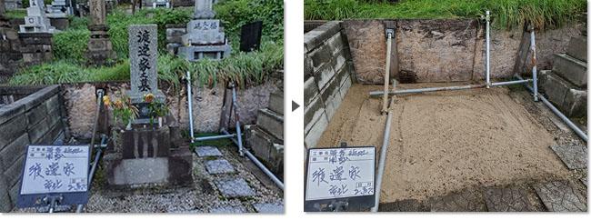小樽市のお墓じまい