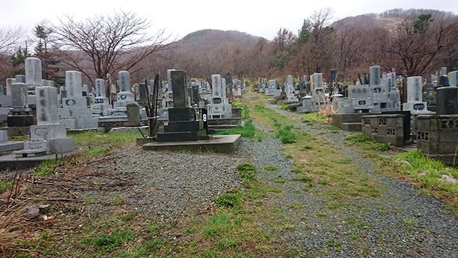 寿都町営墓地